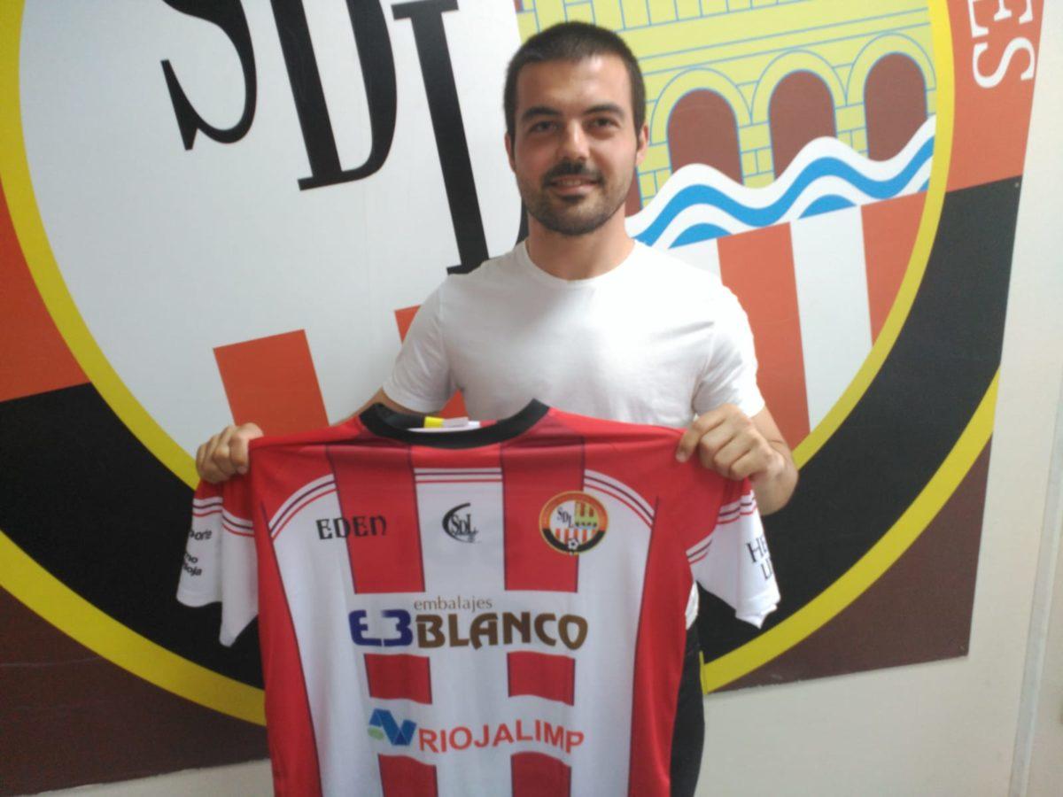 Diego Lacruz, nuevo jugador de la SD Logroñés – SD Logroñés.
