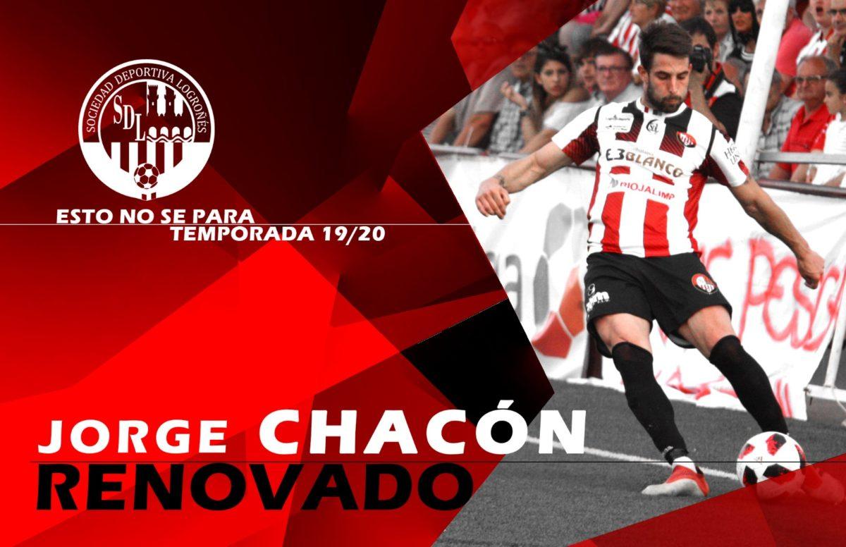 Chacón renueva con la SD Logroñés – SD Logroñés.